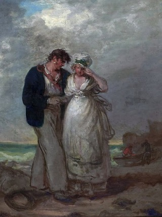 16_ Morland, George - The Sailor's Farewell, c_1790