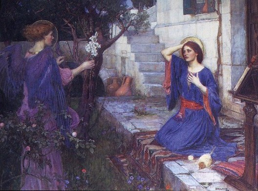Annunciazione - J. W. Waterhouse - 1914