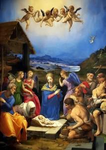 L'adorazione dei pastori - Bronzino, c. 1535