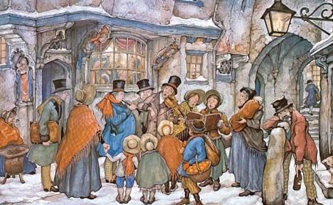 IL NATALE VITTORIANO: la carola al tempo di Dickens