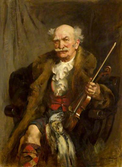 "James Scott Skinner ""the Strathspey King"" di John Young-Hunter 1913"