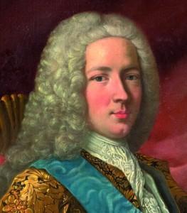 Bonnie Prince Charlie nel 1745