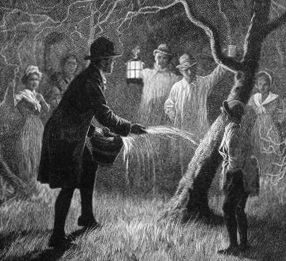 Apple wassailing: the Somerset wassail