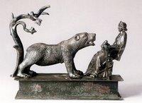 da Muri, Canton Berna, circa 200 d. C. La statuetta è un esempio arte gallo-romana