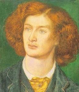 Ritratto di Algernon Swinburne - Dante Rossetti 1861