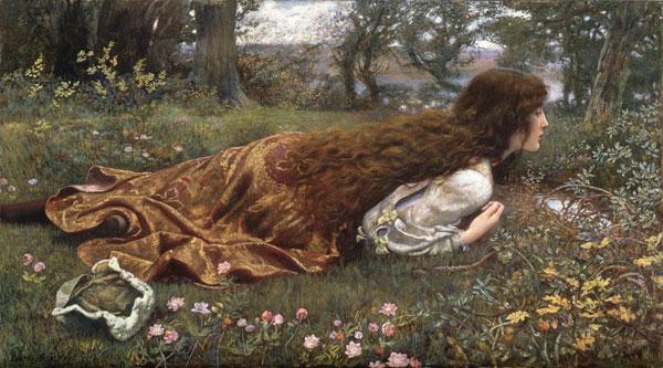 The Princess Out of School di Edward Robert Hughes