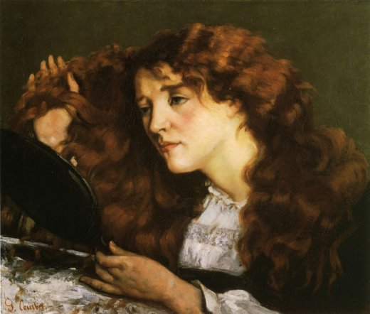 Gustave Courbet: Portrait of Jo, the Beautiful Irish Girl-1865