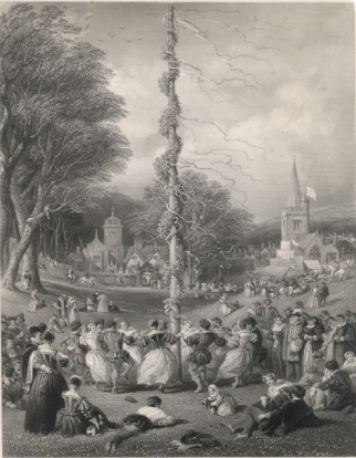 john-cousen-dancing-round-the-maypole-on-the-village-green-in-elizabethan-times