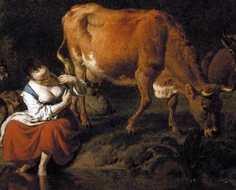 Cailín deas crúite na mbó, a pastoral love song