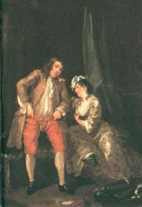 William Hogarth (1697-1764) – Before the Seduction and After