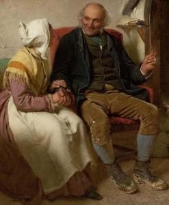 """""""John Anderson my jo"""" - John Faed (1819-1902)"""