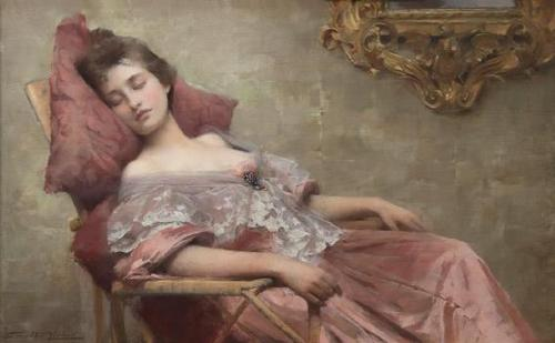 Samuel Melton Fisher, Asleep, (1902)