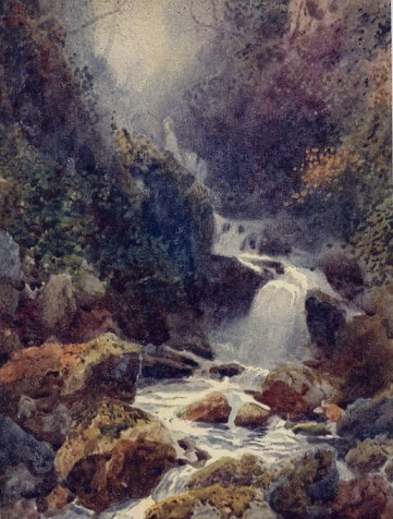 Falls of Moness Aberfeldy Perthshire