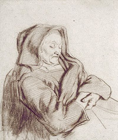 by-maes-old-woman-asleep