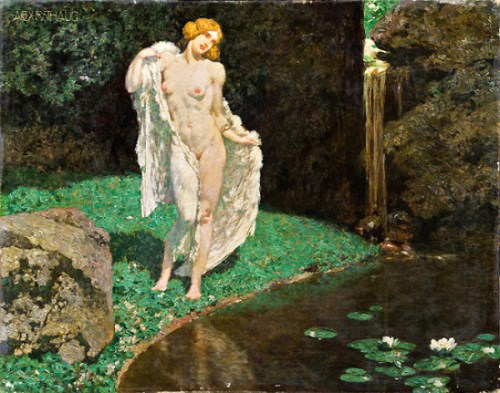 Alexander Rothaug (1870 – 1946) Swan Maiden