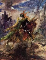 "Gustave Moreau, ""La ballade"" 1885"