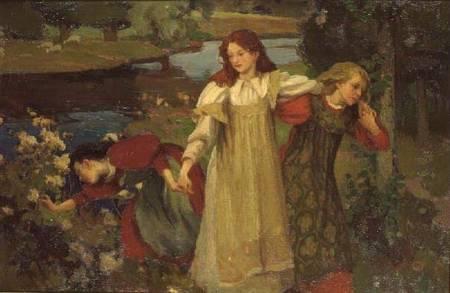 """The Bonnie Banks O'Fordie,"" by Charles Hodge Mackie (1892)"