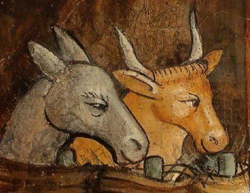 Entre le Boeuf et l'âne gris
