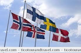 le nazioni scandinave