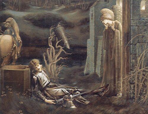 Corpus Christi Carol e la leggenda del Graal (Down in yon forest)