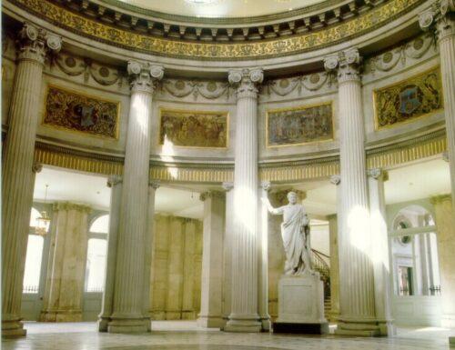 City Hall di Dublino & Parliament Street