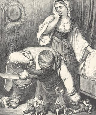 When the Ogre of Fairy Tales had their parent: Cruel Mother