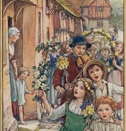 Lancashire, Yorkshire & Oxfordshire may day carols