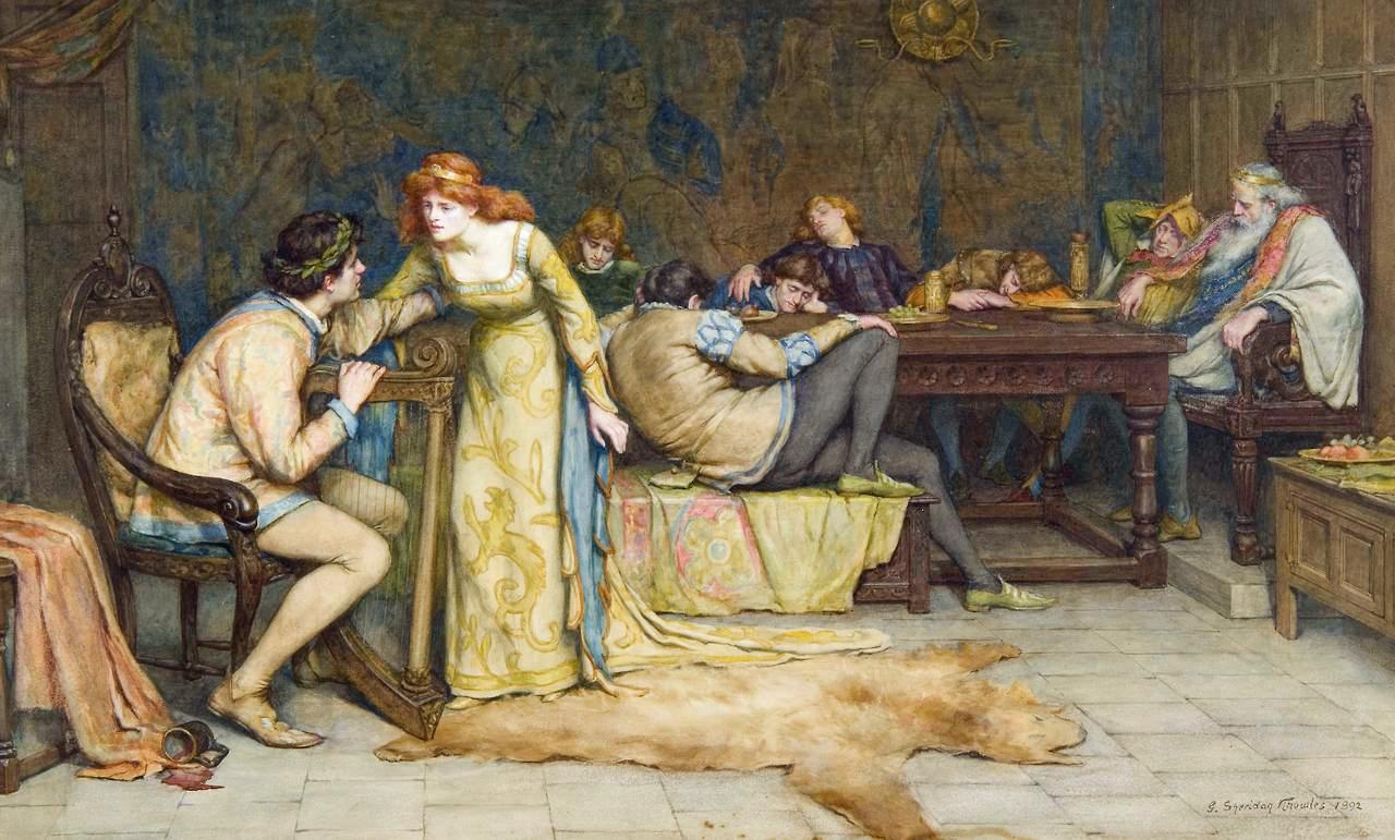 George Sheridan Knowles - Glasgerion 1892