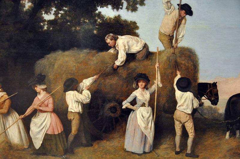 George Stubbs - Haymakers 1785 (Wikimedia)