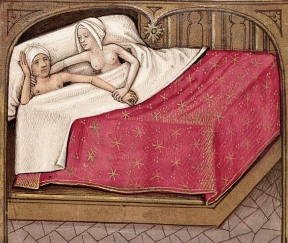 Captain Wedderburn's Courtship - Lovers in Bed