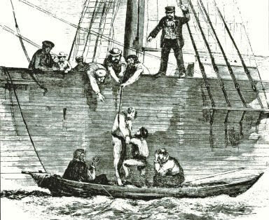 The Press Gang / On Board a Man-o-War
