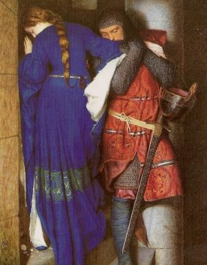 THE ENGLISH LADYE AND THE KNIGHT