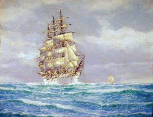 Memorie del nobile veliero Tusitala ultimo Windjammer americano (narrate da lui stesso)