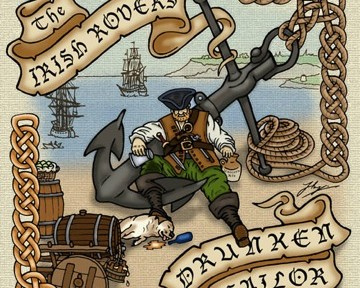 THE IRISH ROVER: A COMIC DRINKING SONG