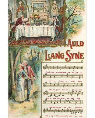 Auld Lang Syne: melodie in cerca d'autore