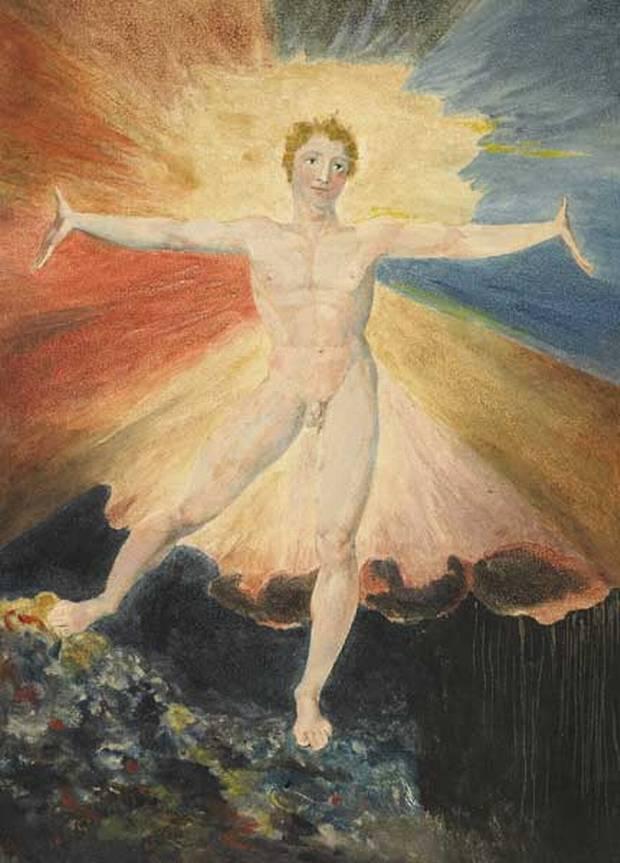 William Blake La danza di Albione, 1795