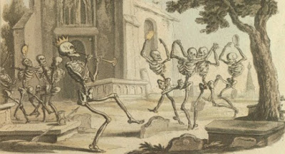 The Shaking Of The Sheets: a macabre dance