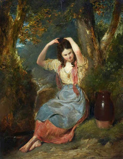 The Girl at the Well (Peasant Girl) (ca. 1831) George W. Simson