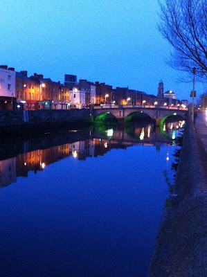 dublin canal night time