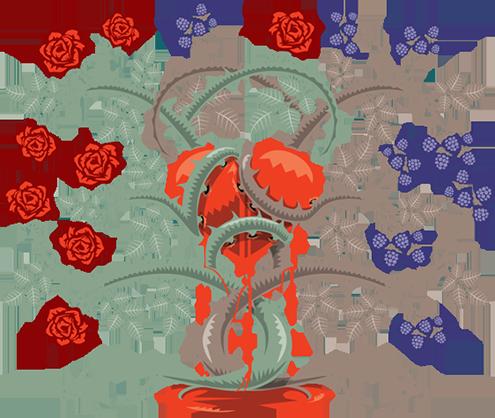 Folk ballad: ROSE-BRIAR MOTIF