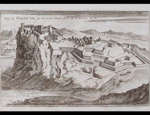 Il Castello di Verrua e la bella che tira la pietra