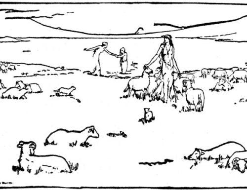 Oran mu'n Ghruagaich: il folletto-capra protettore del bestiame