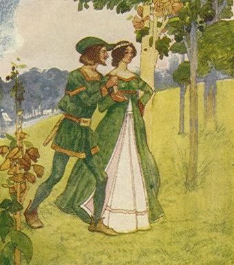 William and Earl Richard's Daughter/ The Birth of Robin Hood