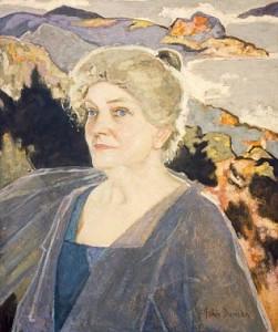 Marjory Kennedy-Fraser  ritratta da John Duncan