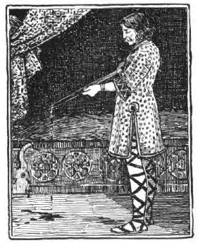 Cantè Bergera - moglie infedele - il principe trafigge la bella con la spada