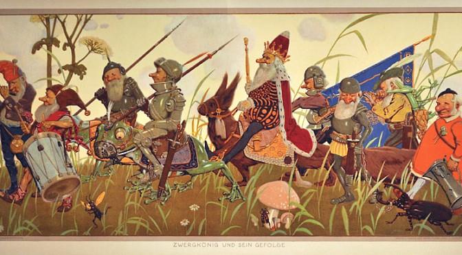 The dwarves of folklore