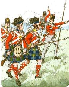 The Pressers - soldati scozzesi nelle guerre napoleoniche