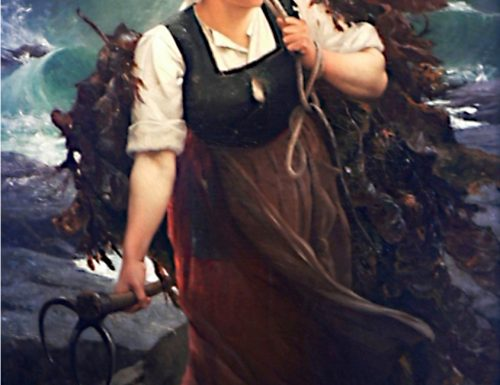 Dúlamán, the seaweed-gatherer in Irish balladry