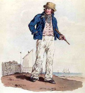 giovane marinaio britannico