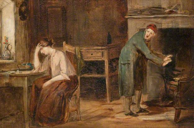 Joseph Henderson (1832–1908) 'What Can a Young Lassie Dae wi an Old Man?'